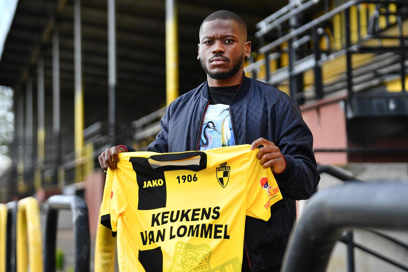 Stallone Limbombe is één van de tien nieuwkomers bij Lierse.