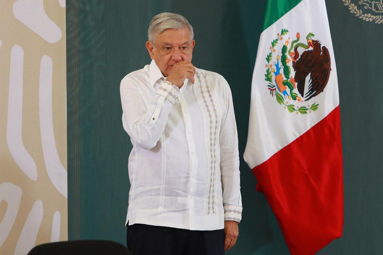 De Mexicaanse president Andrés Manuel López Obrador ontmoet vandaag zijn Amerikaanse collega. Een riskante onderneming, klinkt het her en der.  Beeld Photo News