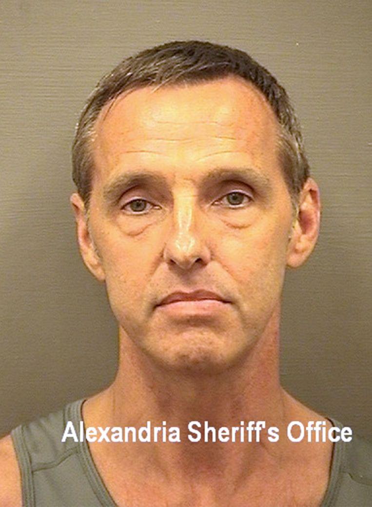 Een profielfoto van Kevin Mallory, de voormalig CIA-medewerker die tot twintig jaar gevangenisstraf werd veroordeeld vanwege spionage.