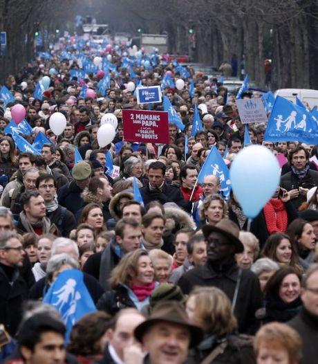 Entre 340.000 et 800.000 manifestants contre le mariage gay à Paris