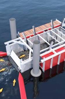 Dit nieuwe opvangsysteem moet ervoor zorgen dat het water bij Schiedam rommelvrij wordt