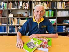 Piet (70) hielp de Hoevense heemkundekring de Atlantische Oceaan over