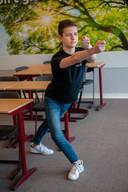Krijn van den Berge, leerling Rodenborch College in Rosmalen, danst onder andere in de Efteling Musical.