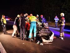 Vrouw zwaargewond na ongeval A67 Eersel
