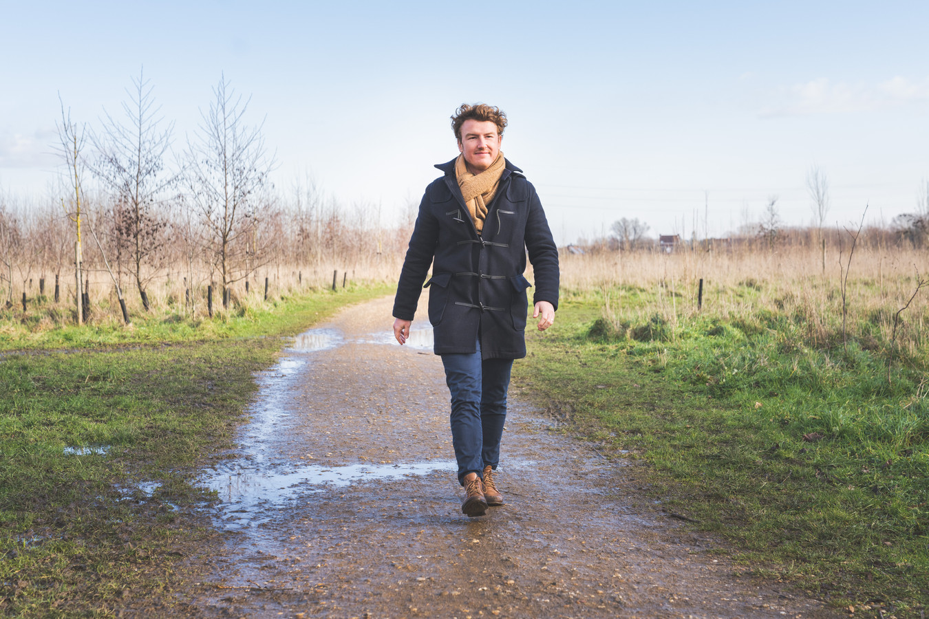 Bram Van Braeckevelt in de Gentbrugse Meersen: voor de Gentse politicus is het zijn achtertuin.