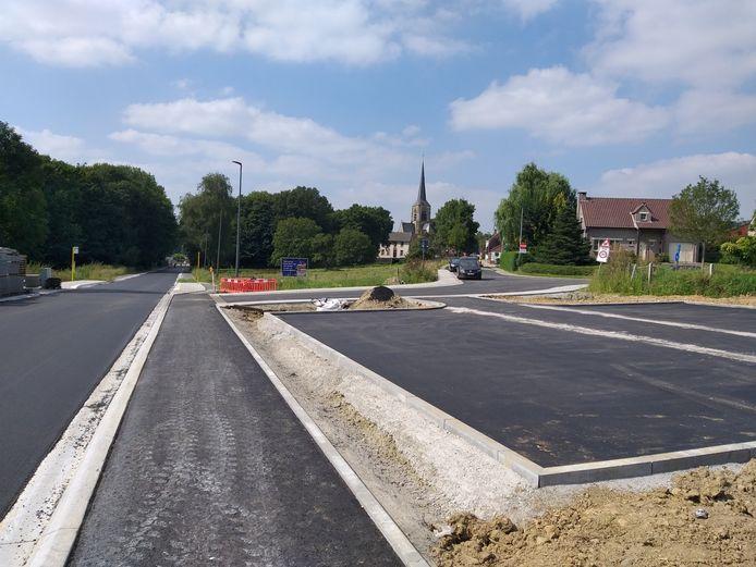 De werken aan de Bodegemstraat zijn afgelopen.