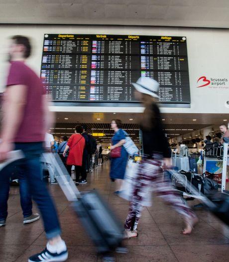Grève surprise des bagagistes à Zaventem, 13 vols annulés vendredi