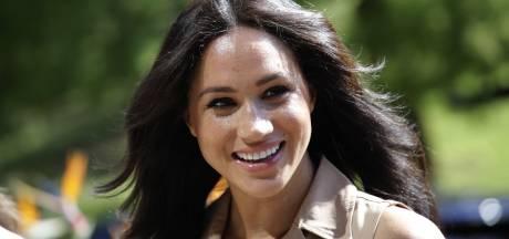 'Meghan sprak met koningin Elizabeth voor uitvaart prins Philip'