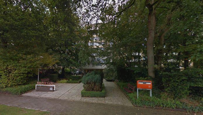 De ingang van Mirthehof