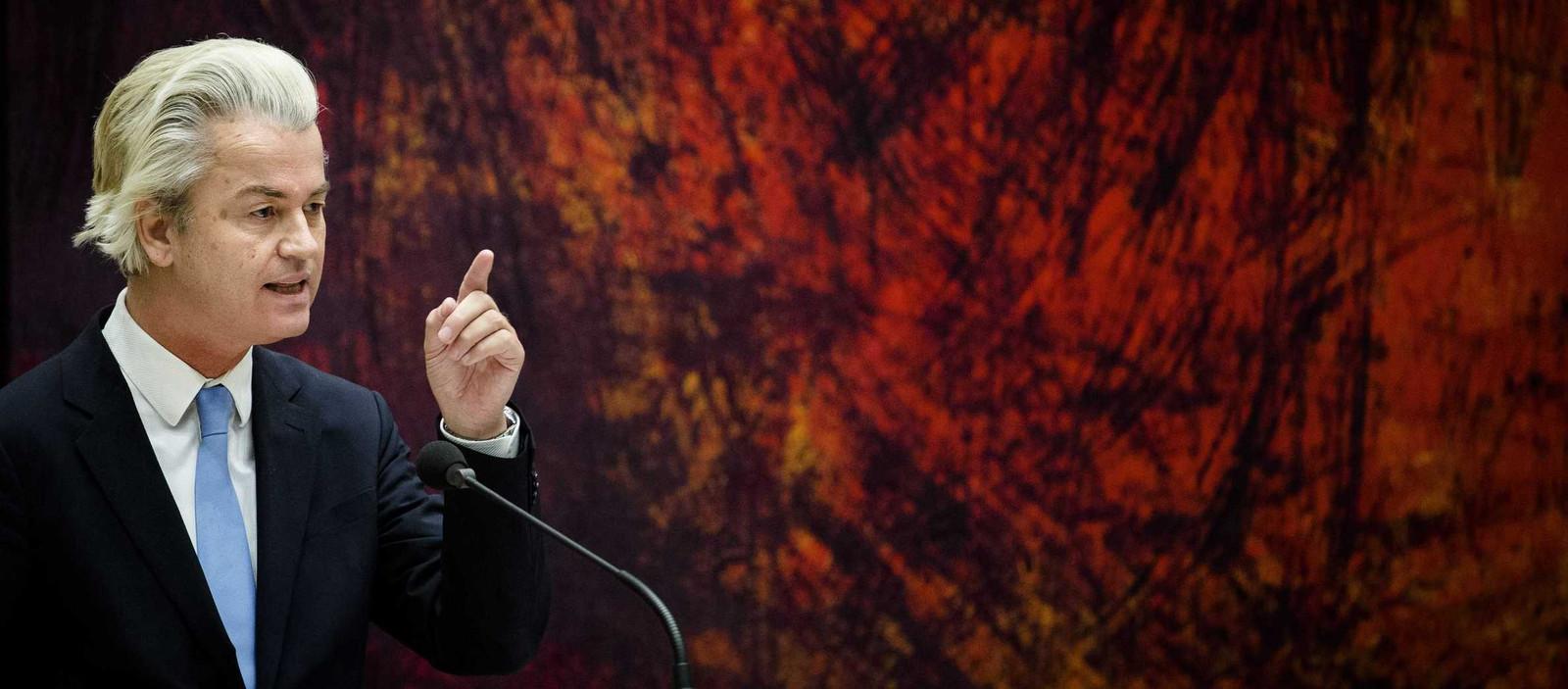 PVV-leider Geert Wilders