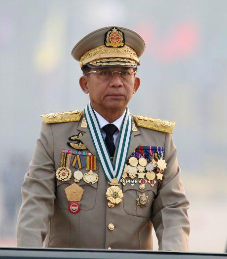Militaire machthebber Myanmar belooft nieuwe verkiezingen