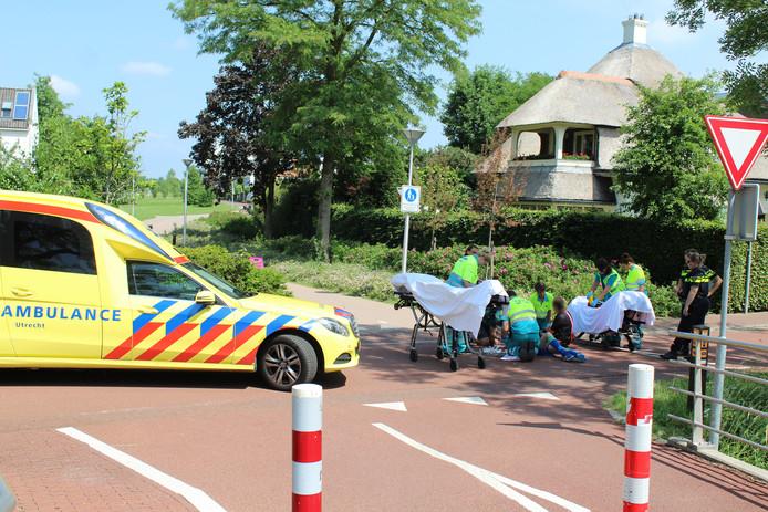 Het ongeluk gebeurde op het kruispunt van de Zandweg met het Vasalisplantsoen.