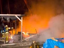 Stacaravan uitgebrand op camping De Biltse Duinen