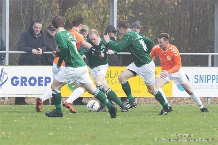 Eerder dit seizoen wist Voorwaarts op eigen veld met 3-1 te winnen van Bergentheim.