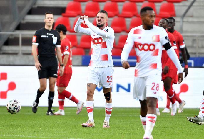 Maxime Lestienne avait été l'unique buteur du Standard au match aller.