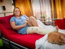 Bossche Daniëlle (41) blij én bang na aanhouding verdachte motorrijder: 'Ik heb altijd pijn door hem'