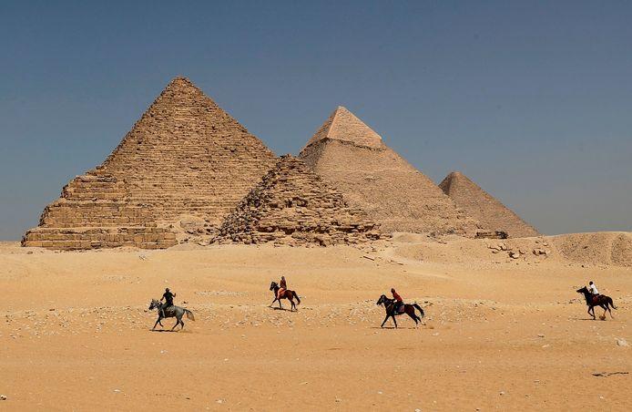 De piramides van Gizeh.