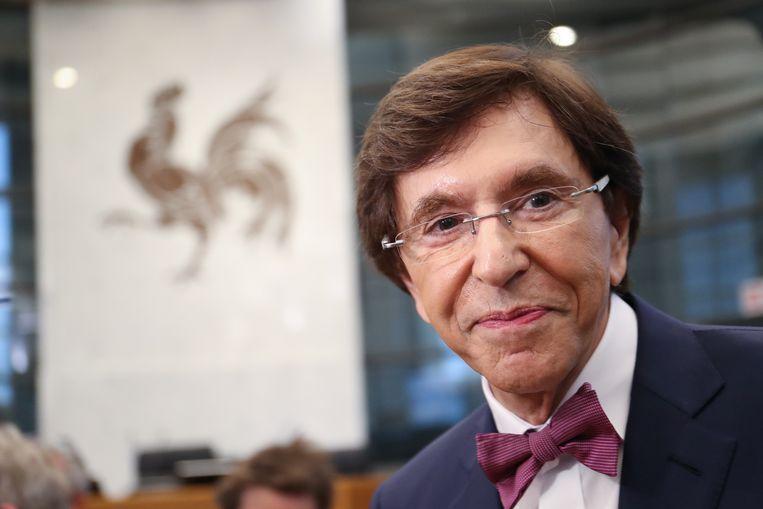 Elio Di Rupo (PS). Beeld BELGA