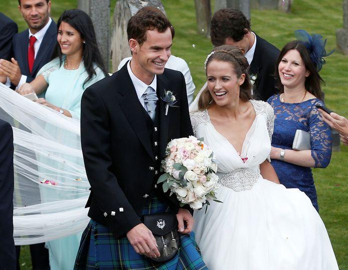 Andy Murrayis getrouwd met  Kim Sears.