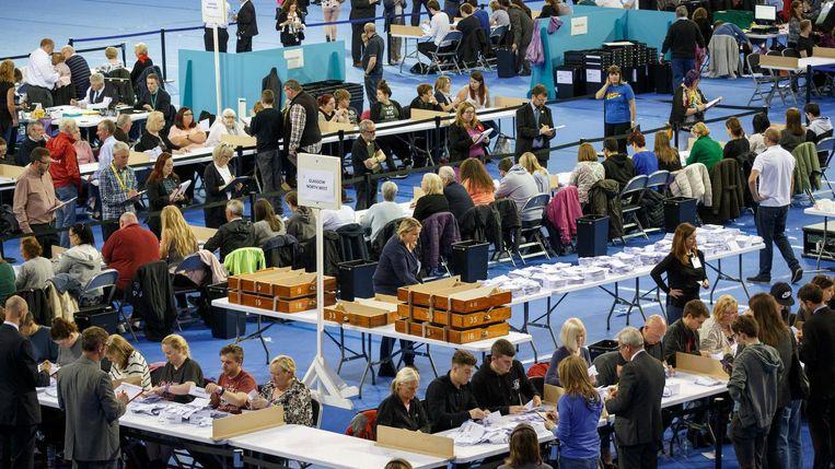 Verkiezingen in Groot-Brittannië. Beeld EPA