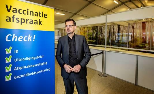 André Rouvoet, voorzitter van GGD GHOR Nederland