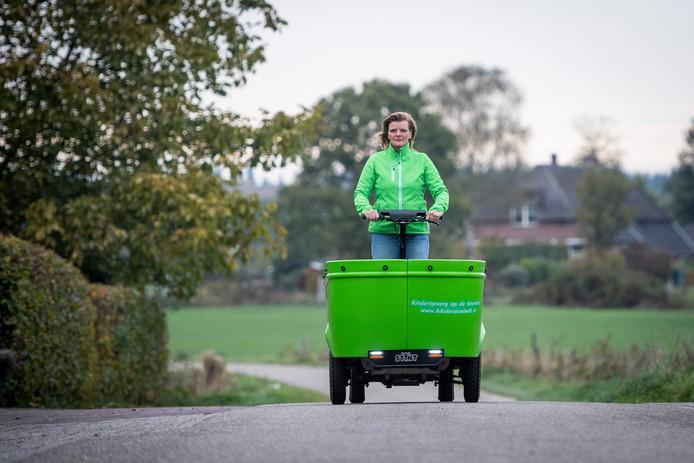 Johanna Stam van kinderopvang Vossebelt in Holten is blij dat ze na de zomer haar Stint weer mag gebruiken.