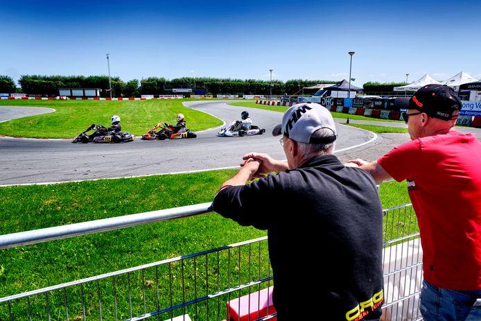 De kartbaan in Strijen is dé kraamkamer van het racen.