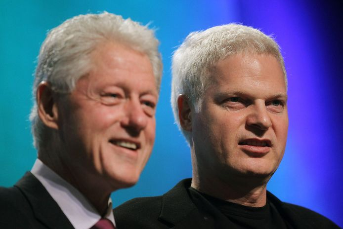 Bill Clinton et Steve Bing