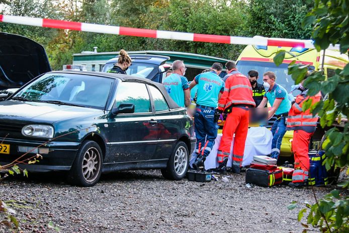 Ongeluk camping Leimuiden