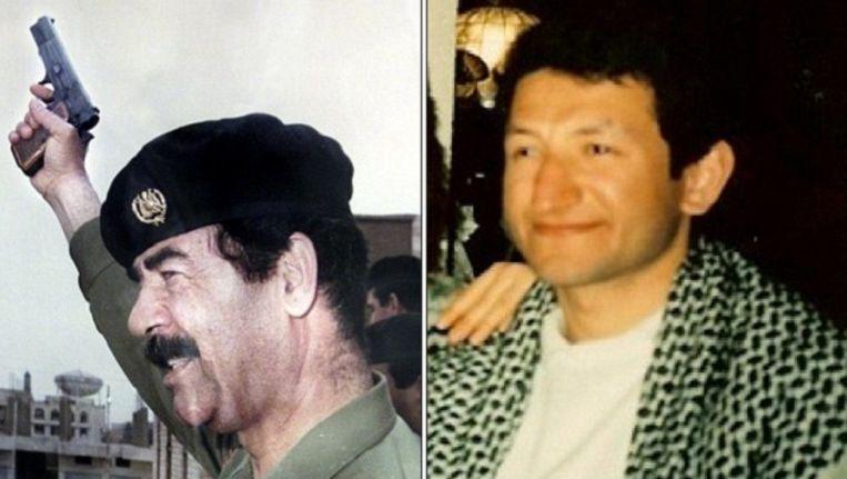 De vader van Saad al-Hilli had nauwe banden met Saddam Hoessein. Beeld