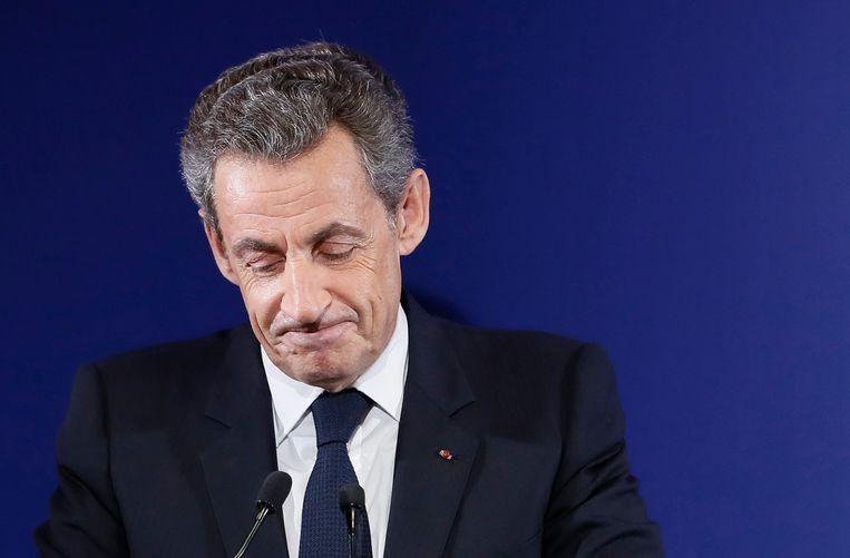 Nicolas Sarkozy. Beeld EPA