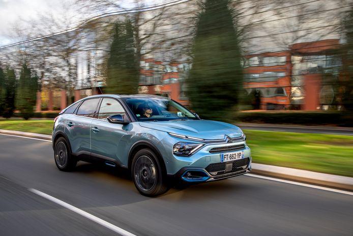 De Citroën ëC4 is een opvallende nieuwkomer