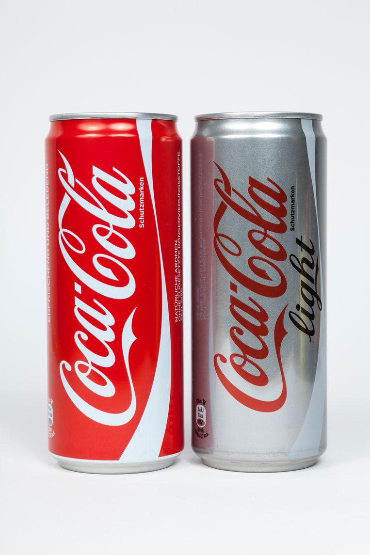 'Neem liever een gewone cola dan een cola light', staat in een persbericht van het Leids Universitair Medisch Centrum (LUMC). Beeld Getty