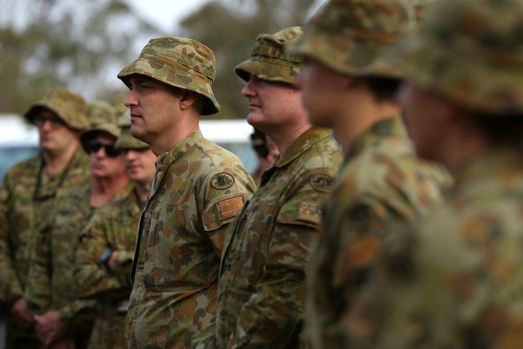 Australië zet 3.000 reservisten in om te helpen bij de bestrijding van de bosbranden. Beeld EPA