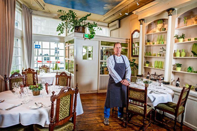 Restaurant De Mallemolen. Op de foto: eigenaar en chef Peter Ponsioen.