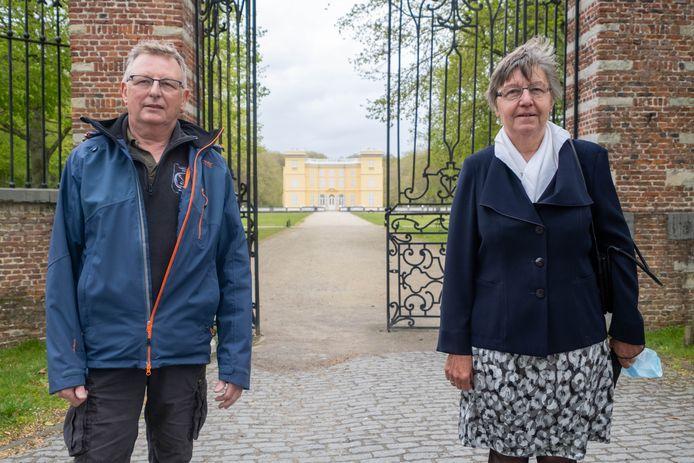 HINGENE Kasteel d'Ursel is het vertrekpunt voor de wandeltocht Ring Klein-Brabant van Wandelclub Kwik Bornem. Maria Boeykens en Eduard De Bruyn