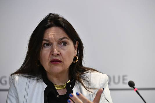 Minister Marie-Christine Marghem.