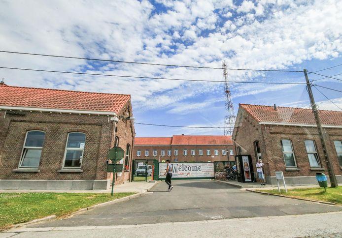 Het opvangcentrum in Poelkapelle.