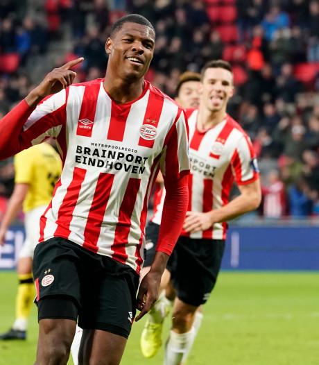Ook Dumfries smaakmaker bij PSV: rechtsback is onuitputtelijke krachtbron die alles lijkt te verteren
