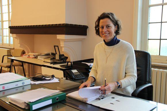 Cynthia Browaeys is nu één jaar burgemeester van Horebeke.