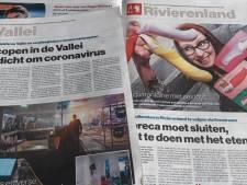 Gelderlander-journalisten blijven thuis, redactiekantoor onbezet