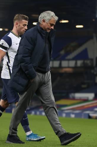 José Mourinho niet langer trainer van Tottenham