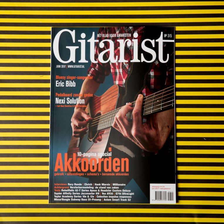 Muziektijdschrift Gitarist. Beeld