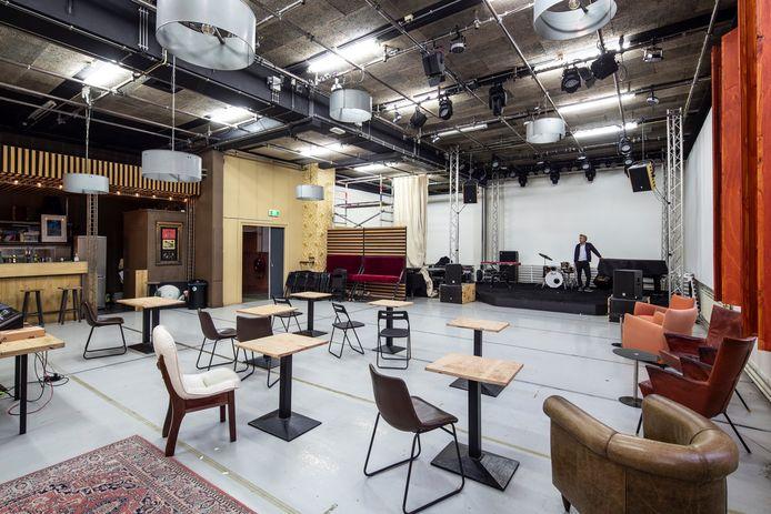 New Grounds is een nieuw podium voor muziek en dans in Rotterdam.