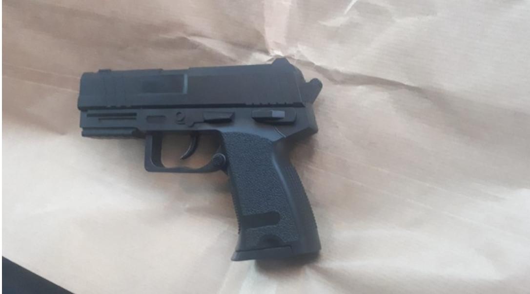 Het desbetreffende 'pistool'.