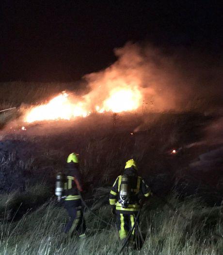Brandweer rukt uit voor duinbrandjes Westkapelle
