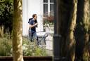 27 september: premier Rutte arriveert bij het Catshuis voor een informeel overleg over het coronavirus.
