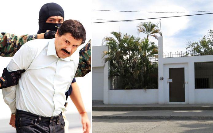 Drugsbaas 'El Chapo' wist in 2014 via een ondergrondse tunnel uit het gebouw te ontsnappen.