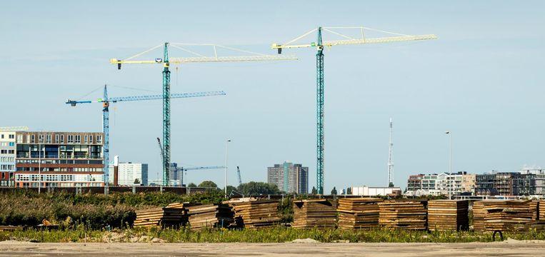 Een bouwproject in Buiksloterham in Noord Beeld anp