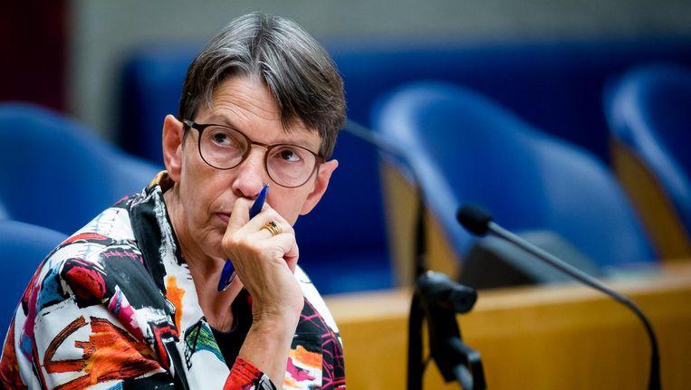 Staatssecretaris Jetta Klijnsma gaat bekijken of de hersteltermijn elf jaar kan blijven. Beeld anp